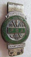 1959 PGA CHAMPIONSHIP CONTESTANT BADGE WON BY BOB ROSBURG AT MINNEAPOLIS G. C.