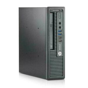 Mac OS Big Sur HP EliteDesk 800 G1 USDT Intel i7-4770S 16GB 128 SSD 500GB HD