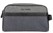 TED BAKER $105 Mens Jaweth Weekend Travel Sport Toiletries Shaving Wash Bag NEW!