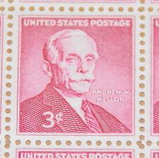 1955 sheet - Andrew W. Mellon Sc# 1072