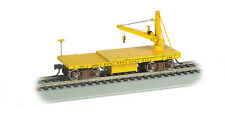 PENNSYLVANIA LINES RR OLD-TIME MOW DERRICK CAR BY BACHMANN TRAINS  HO-SCALE