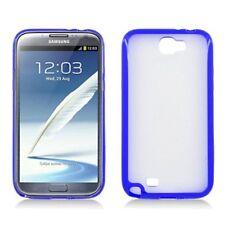 Samsung Galaxy Note 2 II Gummy Grip PC TPU Case Hybrid Hard Soft Candy Cover