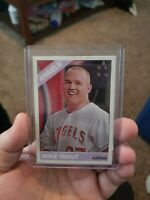 2015 Topps heritage High Number SP Trout