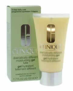CLINIQUE DRAMATICALLY DIFFERENT MOISTURIZING GEL + TUBE