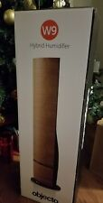 Objecto W9 Tower Hybrid Humidifier & Remote Control, Light Wood Nearly New