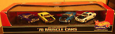 Hot Wheels 70 Muscle Cars Series 4 car Set MIB