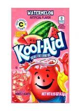 10 Packs Kool-Aid WATERMELON Unsweetened Drink Mix Packets