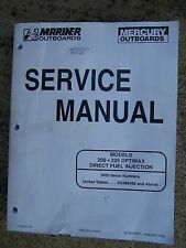 **1998 Mercury 200 225 Optimax Direct Fuel Injection Outboard Service Manual  U