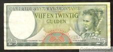 Suriname 25 Gulden 1963 Zf Pn 122 - P8840