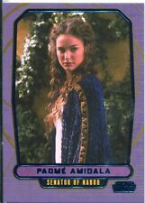 Star Wars Galactic Files Blue Parallel #35 Padm' Amidala