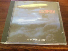 Led Zeppelin Live In Dallas 1975 Silver Disc