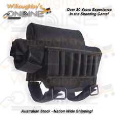 Padded Buttstock Shell Holder With Removable Cheek Rest Riser Shooting Gear