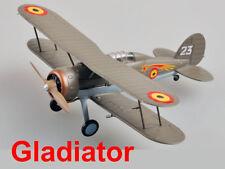 Easy Model 1/72 Gladiator Mk.I 1/1/2 le Escadrille du ler Grouppe #36459