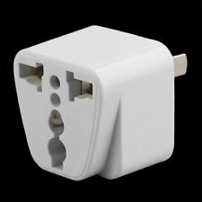 2 pin AC American USA Power Plug Adapter Travel Converter Australia UK USA EU Fe