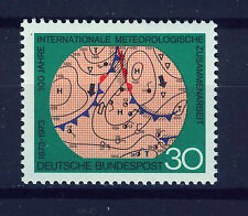 ALEMANIA/RFA WEST GERMANY 1973 MNH SC.1102 Intl.Meteorological Cooperation