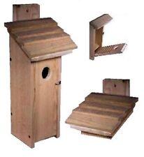 Ark Workshop cedar Downy WOODPECKER house titmouse chickadee finch nuthatches