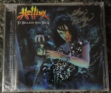 HELLION CD TO HELLION AND BACK 2 DISCS (2014) - Autographed!!  rare, unreleased