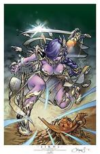 JIRNI CALGARY EXPO LIMITED EDITION ART PRINT BY PANTALENA & PETER STEIGERWALD