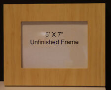 Handmade 5x7 unfinished wood picture frame