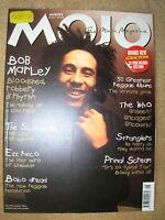 MOJO MAGAZINE #105 AUG 2002 BOB MARLEY