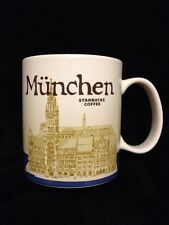 Starbucks Munich Mug Germany Town Hall Coffee München Coffee Cup Icon US Ship