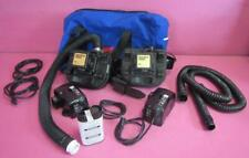 Lot of 2 - 3M Breathe Easy Airstream PAPR 2 - Smart Battery Charger & Adapters