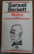 MOLLOY DI SAMUEL BECKETT - OSCAR MONDADORI - LA TRILOGIA 1970