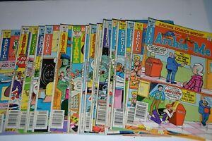 Harvey Comics Bronze Age Archie Comics Lot Misc Titles 19 Issues