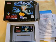 FLASHBACK - Super Nintendo Nes Snes - Pal NOE OVP Boite notice