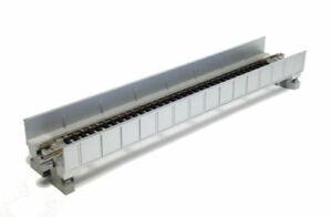 Kato N Scale UniTrack Train Track Single Plate Girder Bridge 7-5/16in Silver