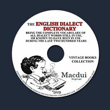 The English dialect dictionary (EDD) – Vintage Magazines 6 Volumes PDF on 1 DVD