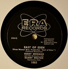 Buddy Bergman East of Eden Mood Music Movie Theme 78 NM The Kentuckian Song NICE