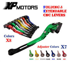 Folding Extendable Brake Clutch Levers For Kawasaki Z1000 2003 2004 2005 2006