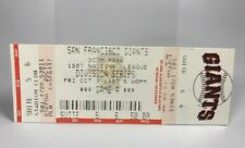 1997 NLDS 3Com Park Giants Marlins Game A Full Suite Ticket