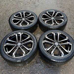 "REPLICA VW AUDI SKODA SEAT - 17"" NOGARO GTI GTD STYLE ALLOY WHEELS & TYRES"