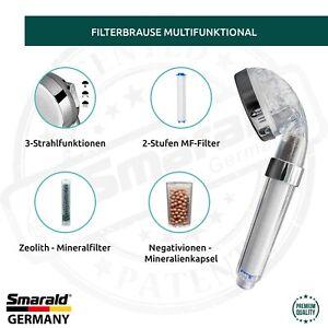 Duschkopf Handbrause integriertem 2-Stuffen  - Duschfilter multifunktional