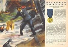 A5545) WW2 MARINA CANALE DI SICILIA, M.O. FONTANA GIUSEPPE DA VICENZA.