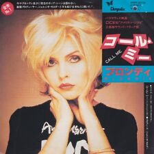 Blondie Call Me / Call Me (Instrumental) Japan White Label 45 W/PS