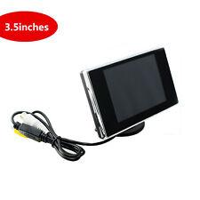 "3.5"" LCD TFT Color Screen Car Monitor DVD DVR Car Rear View Backup Camera MINI"