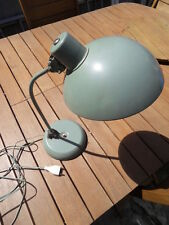 Lampe bureau Tole Ufo design french art deco bauhaus vintage lamp desk 40.50's