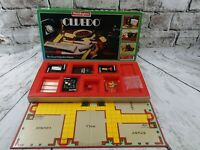 Vintage 1983 Cluedo Board Game. By Waddingtons. 99% Complete. Lead pipe missing
