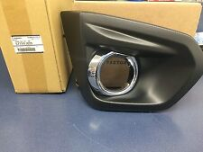 2012-2014 Subaru Impreza RH Right Passenger Side Fog Light Bezel W/ CHROME OEM