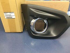 2012-2014 Subaru Impreza RH Right Passenger Side Fog Light Bezel W/ CHROME OEM
