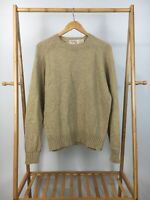 VTG The Fox Collection Men's Wool Acrylic Blend Knitted Sweater Size L (42-44)