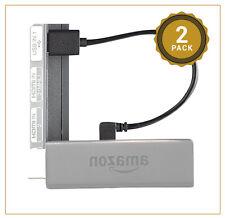 Exinoz Mini Fire TV Cable Usb Paquete de 2-Potencia De Fuego Palo De Tv ordenado