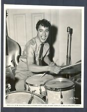 GREAT SAL MINEO PLAYS DRUMS - N MINT LINEN-BACKED 1956 - ROCK, PRETTY BABY