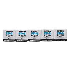 Ilford FP4 Plus ISO 125 Black & White 36 Exposure 35mm Film - 5 Pack