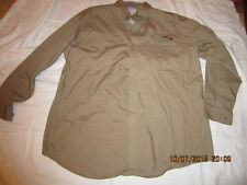 Preowned Men's Size L Men's L.L. Bean Bob Allen Wingshooting Brown Shirt