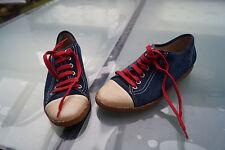 ARA Damen comfort Schuhe Sneaker schnürer sportlich Gr.37,5 marine wildleder #88