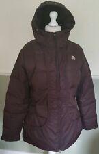 Ladies Nike Fit ACG Coat Jacket Grey Goose Down Ski Snowboarding Extra Large red